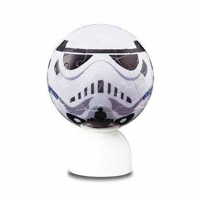 預購~STAR WARS 星際大戰 60片 3D球型拼圖(STORM TROOPER 帝國風暴兵)