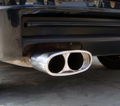 《※金螃蟹※》 BMW 寶馬 3 系列 318 鍍鉻造型尾管 152mm可裝 鍍鉻 造型 排氣管 尾管