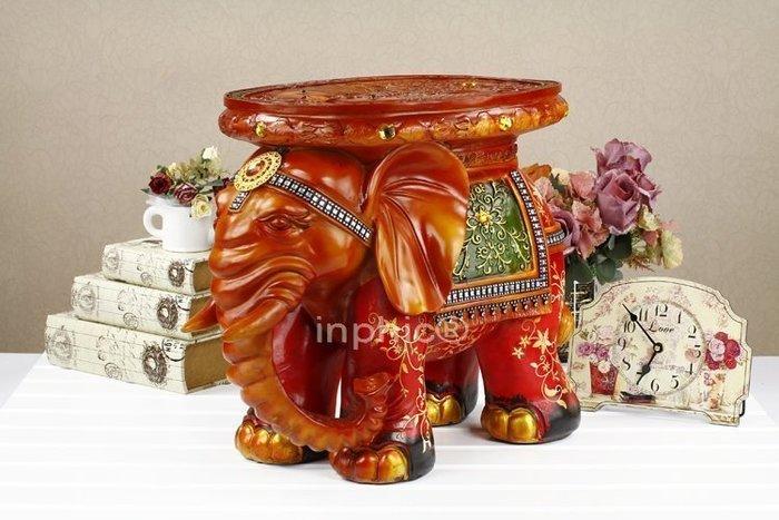 INPHIC-大象換鞋凳子歐式客廳家居裝飾品擺設大型擺飾創意工藝品