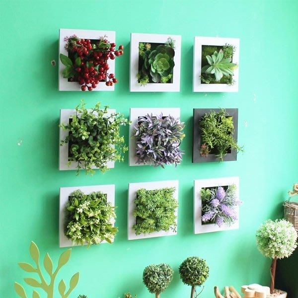 5Cgo【宅神】促銷520116298552 美式鄉村店鋪創意家居牆上裝飾品掛件仿真植物客廳牆面壁掛壁飾酒店花店咖啡廳