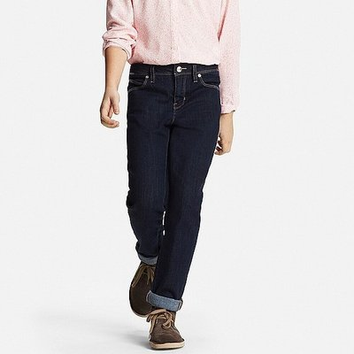 【824小鋪】Uniqlo Jeans - Girls Skinny Fit 緊身牛仔褲 130cm [A90]