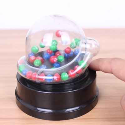 電動搖搖樂轉盤六合彩大樂透抽簽彩票號碼雙色球搖獎機模擬選號器ATF