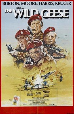 【藍光電影】野鵝敢死隊 The Wild Geese (1978) 經典大片,要求高的不要選! 108-003