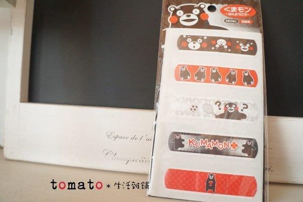 ˙TOMATO生活雜鋪˙日本進口雜貨日本限定熊本縣吉祥物KUMAMON 一組10枚