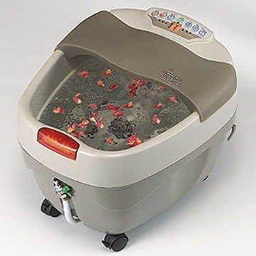 泡腳機【1313健康館】YAN SONG旗艦型SPA足浴臭氧加熱水療足浴機 無線遙控(另有銀貂氣血循環機.拉筋板)