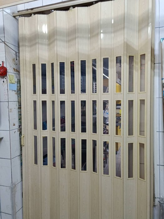 YOYA 強化藝術拉門 110mm塑膠強化拉門 F-1 透明拉門、節省冷氣費 區隔空間實用又美觀 窗簾、百葉窗、捲簾
