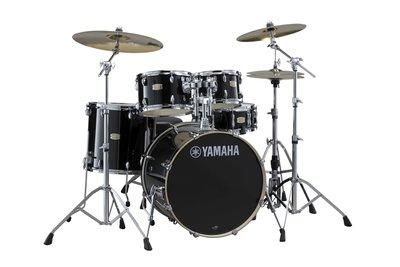 【金聲樂器】全新 Yamaha Stage Custom Birch  經典黑色 懸吊式 爵士鼓
