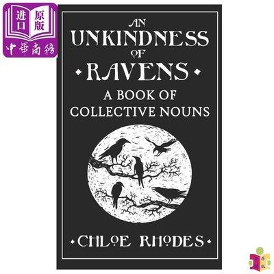 [文閲原版]An Unkindness of Ravens: A Book of Collective Nouns 英文原版 英國地道英文語言天賦系列:集合名詞