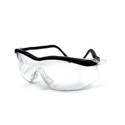 【老毛柑仔店】3M QX2000 安全眼鏡 耐磨 防護 防刮花 防霧 包覆式 眼部護具 可調整鏡腳