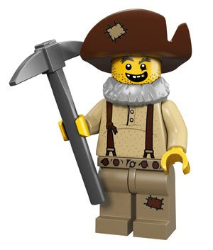 【LEGO 樂高】積木/ Minifigures人偶系列:12代人偶包抽抽樂 71007   礦工 Prospector