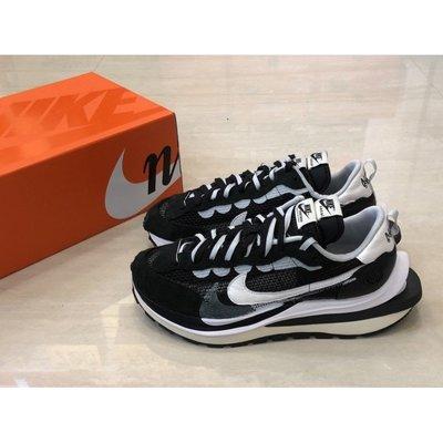 Sacai x Nike Vaporwaffle 黑白 結構 CV1363-001