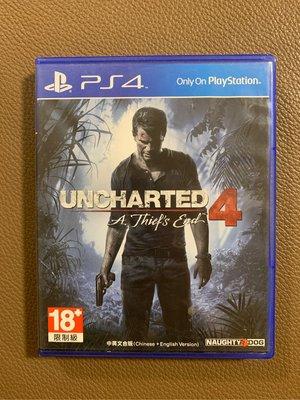 PS4 秘境探險4 UNCHARTED 4 中英文合版