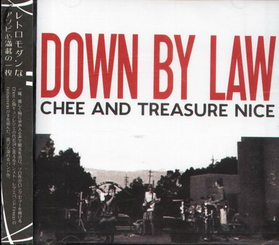 K - Chee and Treasure Nice - DOWN BY LAW - 日版 - NEW