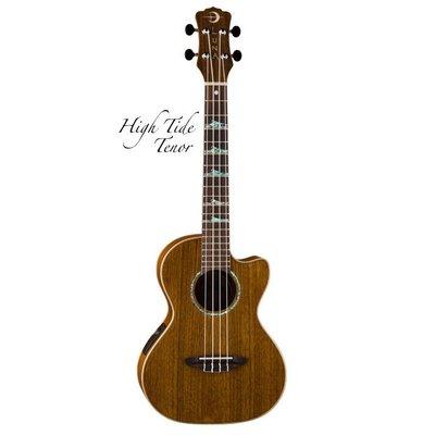 LUNA UKE HTT OVA 26吋烏克麗麗 非洲黑桃木 拾音器 HIGH TIDE ukulele