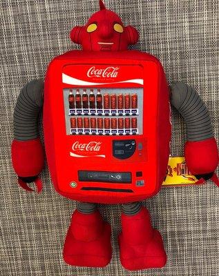 2007年 日本 SEGA PRIZE 景品 超型 COCA-COLA 可口可樂 汽水機 機械人 一個 (保證日版)