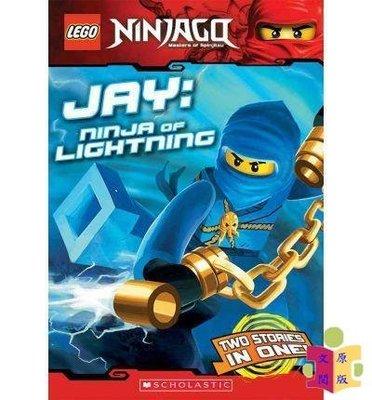 [文閲原版]學樂 樂高忍者系列4 光忍者 英文原版 LEGO Ninjago Chapter Book4