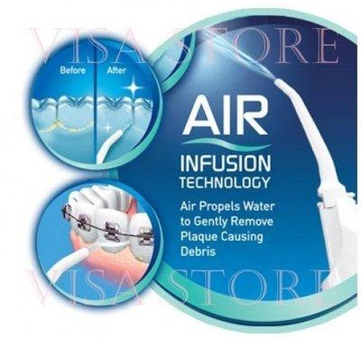非 牙刷牙線  沖牙機 洗牙機 空氣動能 水牙線機 牙齒沖洗器 沖牙器 牙套 隨身攜帶式  假牙牙齒矯正清潔