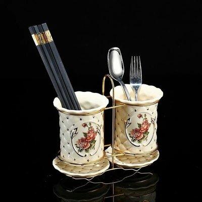 粉紅玫瑰精品屋~金玫瑰系列 歐式陶瓷厨...