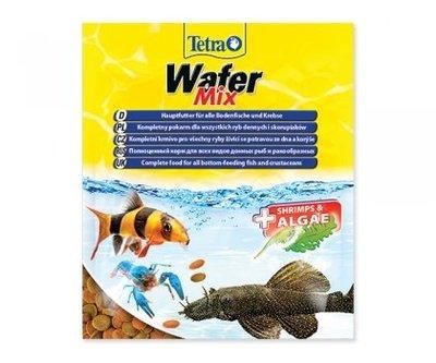魚樂世界水族專賣店# 德國 TetraWafer Mix 觀賞蝦底棲魚飼料 68g 袋裝