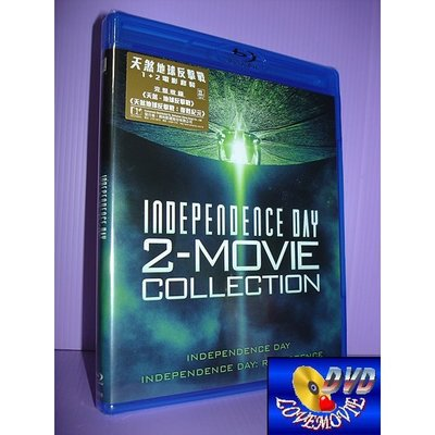 A區Blu-ray藍光正版【ID4星際終結者+ ID4星際重生 二集套裝】[含中文字幕]全新未拆