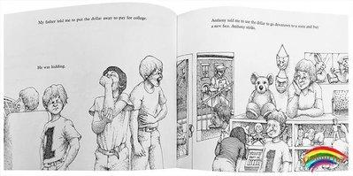 英文原版繪本 Alexander, Who Used to Be Rich Last Sunday 汪培珽第五階段書單 兒童英語輔導訓練故事圖畫 趣味內容