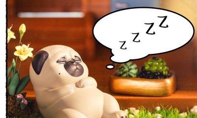 吾皇萬睡盲盒2巴扎黑狗狗懶日常系列第二代公仔