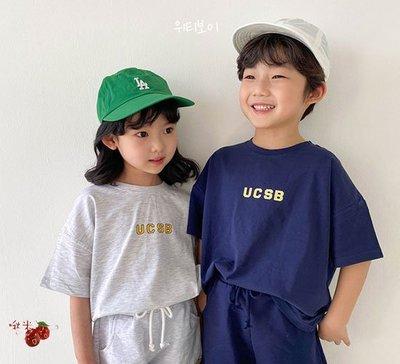 ✿啾米韓國童裝♪~21夏~WITTY BOY~USCB休閒短袖上衣~WB0419-01【8折】【17-19售價為540】