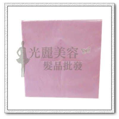*光麗美容髮品批發* 拋棄式十字巾  40*40cm 100張 拋棄十字防汙臉巾 台灣製