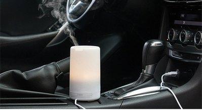 125ml 7種彩燈 加濕 淨化香薰 納米級細霧 超聲波加濕器 加濕器 水氧機 薰香機 芳療機 負離子機 送12瓶精油