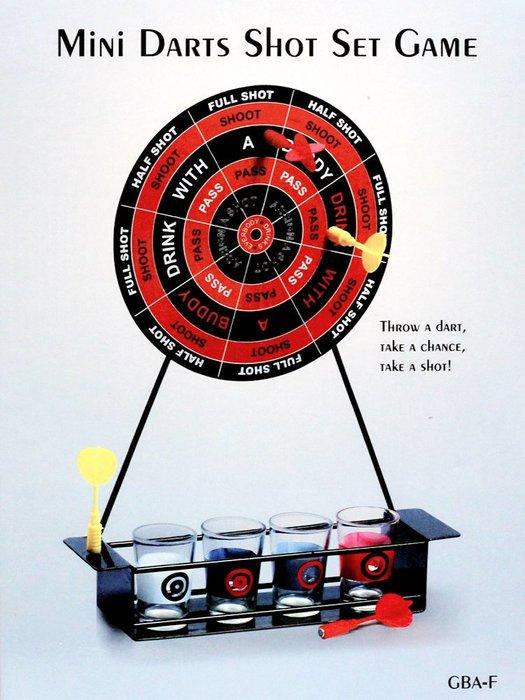 歐美熱銷商品~俄羅斯輪盤飛鏢+酒具遊戲組~派對KTV聚會喝酒必備用品~◎童心玩具1館◎