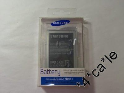 100% 原裝正貨 Samsung Galaxy Note 2 N7100 N7105 EB595675LU 3100mAh NFC鋰 Battery 電池 充電池