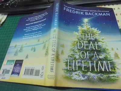 fredrik backman the deal of a lifetime原文小說閱讀北歐文學甲一美美書房