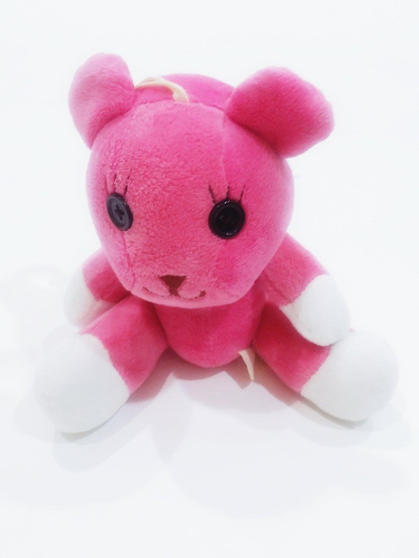 滿三件免運  知名粉紅MOMO熊超可愛車掛吊飾玩偶卡通 只有一隻 九成新  女性最愛禮物