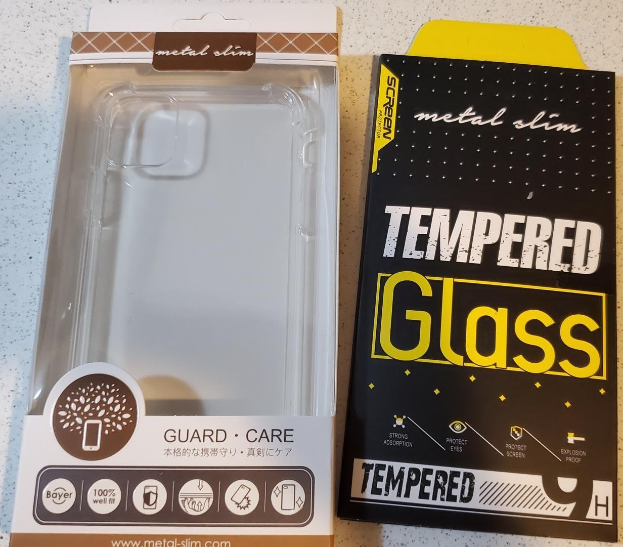 QbiQbi小舖-i11玻璃貼+空壓殼-全新特惠