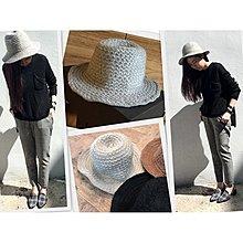 【MEIER Q】優雅簡約質感淺灰色針織質感紳士帽 帽簷弧度可調整 歐美時髦必備單品