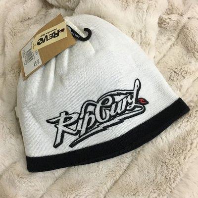 衝浪大牌RIP CURL 冬季白色男款毛帽