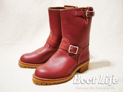 【Boot Life】美國製 Wesco Boss Engineer Boots 經典紅木色工程師靴