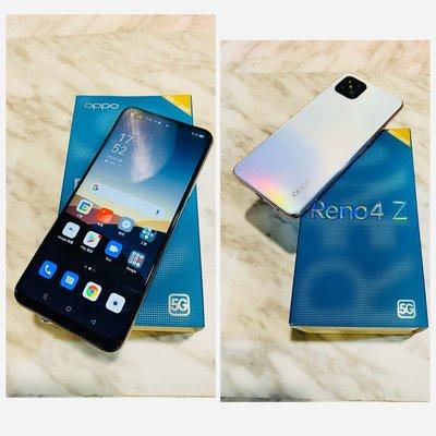二手機 台灣版oppo Reno4z 5G(6.5吋 8RAM 128GB 雙卡雙待)