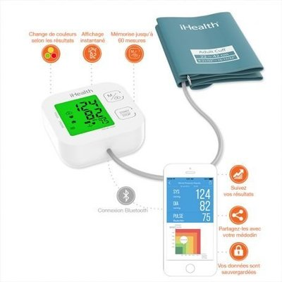 美國 iHealth Track Bluetooth Blood Pressure Monitor 智能血壓計