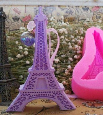 艾菲爾鐵塔 巴黎鐵塔 鐵塔 A 擴香石模具 香薰蠟片模具 香磚模 石膏膜 矽膠模 香氛片