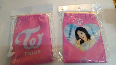 偶像王台北西門町明星商品訂製(158)TWICE-MINA-束口袋