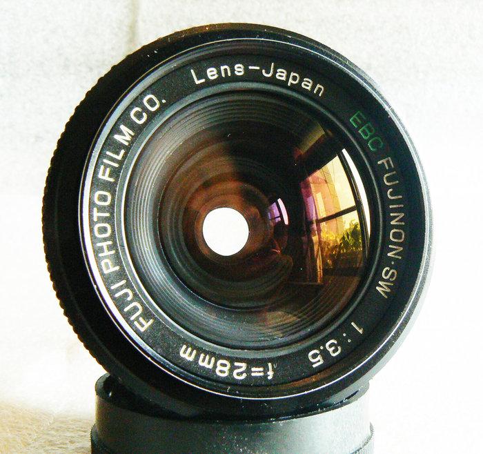 【悠悠山河】同新品 FUJI PHOTO EBC FUJINON 28mm F3.5 M42 鏡片完美無傷無霧無霉無塵