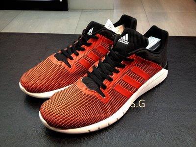 S.G Adidas cc Fresh 2 m 透氣 網布 輕量 慢跑鞋 男鞋 橘黑 B40450 陳奕迅 廣告款 苗栗縣
