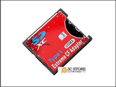 原裝SD轉CF/ TF轉CF卡套 支持無線WIFI SD 2TB 卡托單反相機轉接卡 台北市