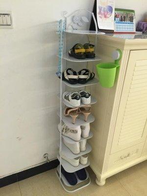 【蘑菇小隊】鞋架省空間 防塵九多層收納金屬簡易小鞋櫃子經濟型家用客廳鐵藝鞋架-MG72526