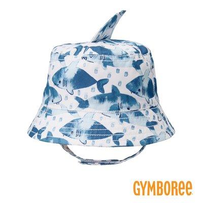外出必備 ✈ 美國知名品牌 Gymboree 健寶園・兒童帽 漁夫帽 遮陽帽 防曬帽 - 海底世界