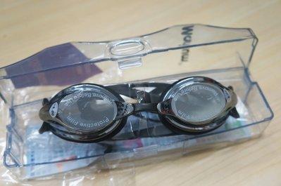 KINI泳具-MARIUM近視泳鏡-小鏡框競賽型-太陽眼鏡鍍銀款(400度出清)-特價420元