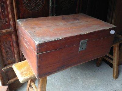 【黑狗兄】早期檜木箱--2-1