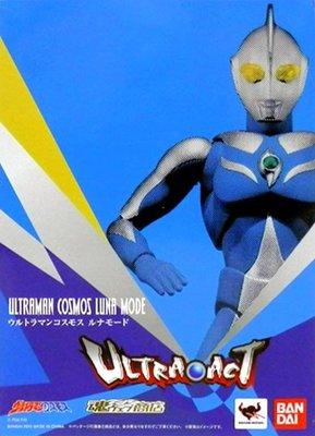 日本正版 萬代 ULTRA-ACT 超人力霸王 高斯 月神模式 可動 模型 公仔 日本代購