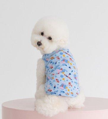 貝果貝果  韓國 DAN  DENTISTS APPOINTMENT 小象DUMBO馬戲團背心 [K1930] 中型犬